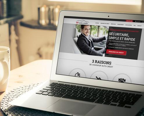 Site Web BF auto crédit