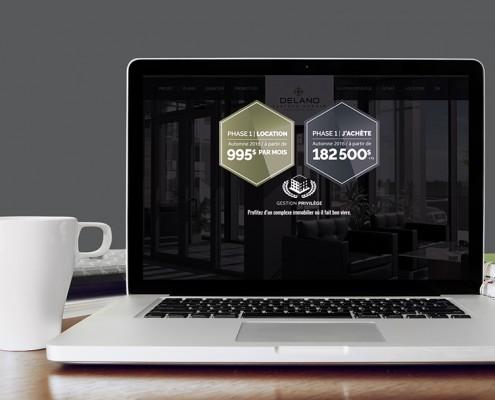 Site Web Delano Condo