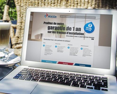 Site Web Fraser