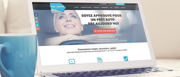 Pret A Rabais >> Novafolio Pret A Rabais Website