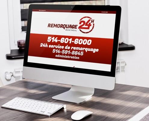 Site Web Remorquage 24H