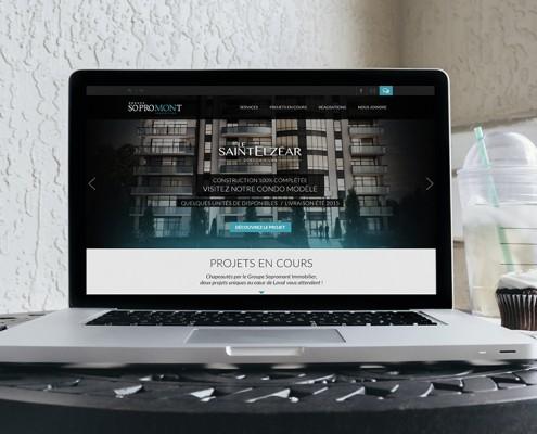 Site Web Sopromont