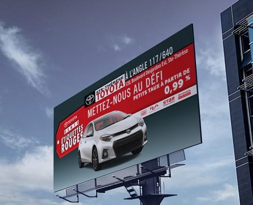 Super Panneau Toyota